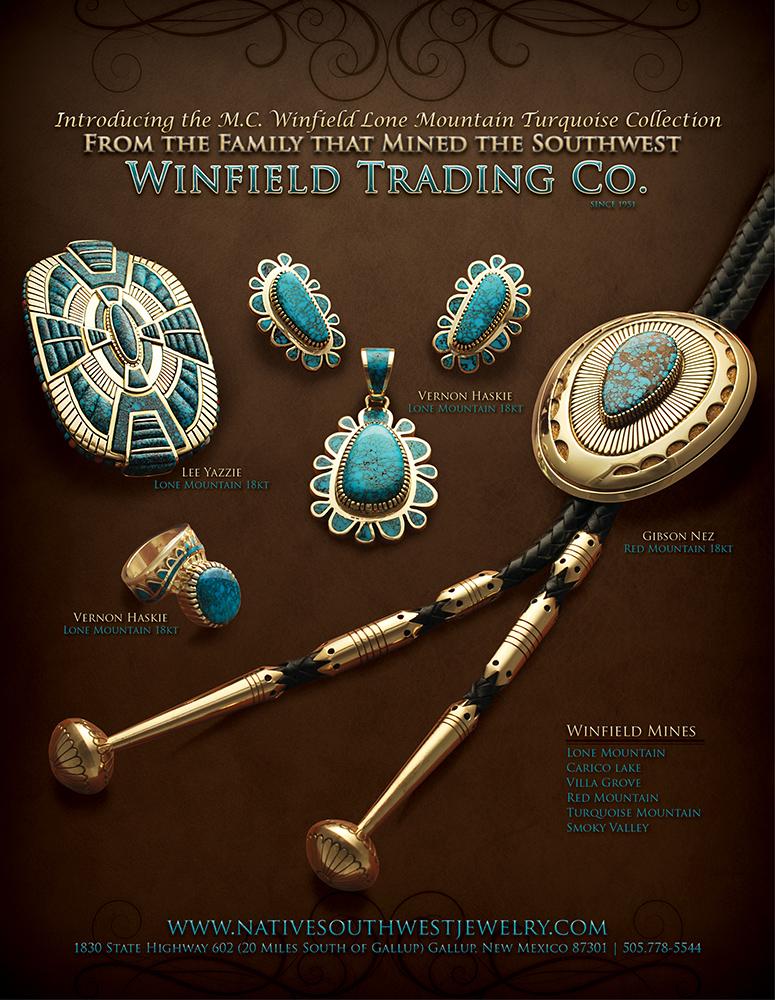 Southwest Jewelry Ad Graphic Design Forum